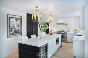 Apollo white with gold hardware transitional kitchen 01