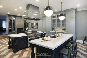 Beatrice black and blue painted custom kitchen 05 - project cover