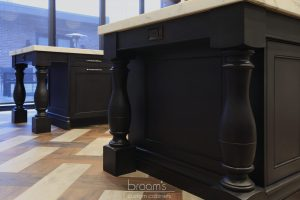 Beatrice black and blue painted custom kitchen 09