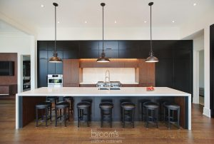 Dianne black and dark wood custom kitchen 04
