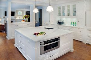 Eastgate white and wood transitional kitchen03