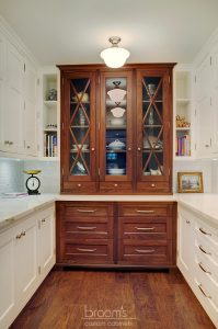 Eastgate white and wood transitional kitchen07