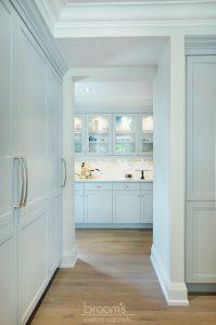 Ennisclare mint painted transitional kitchen 04