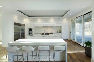 Harvest Moon custom white modern kitchen 02