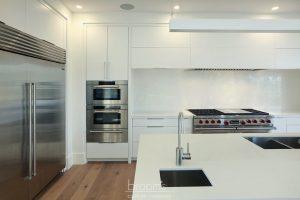 Harvest Moon custom white modern kitchen 04