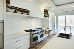 Harvest Moon custom white modern kitchen 06