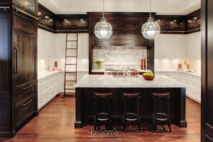 Hush white and dark wood traditional custom kitchen 02 - project cover
