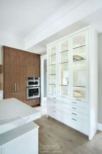 Otterview white and natural wood kitchen with unique island 04