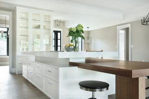 Otterview white and natural wood kitchen with unique island 05