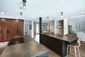 Pine Ridge black and dark wood custom kitchen 09