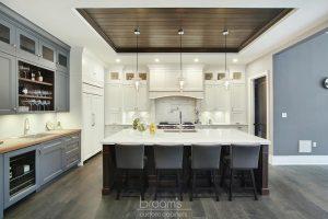 Princess TL blue white and wood custom kitchen 03