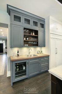 Princess TL blue white and wood custom kitchen 04