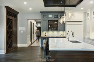 Princess TL blue white and wood custom kitchen 05