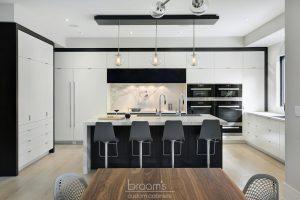 Savoy monochrome modern kitchen 03