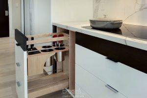 Savoy monochrome modern kitchen 05
