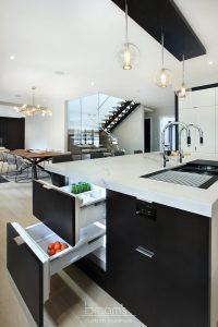 Savoy monochrome modern kitchen 06