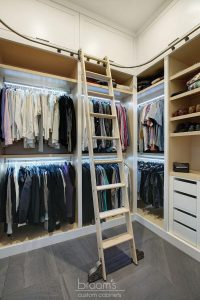 and beyond - white painted custom closet 06