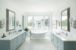 home spa custom blue painted vanities 04