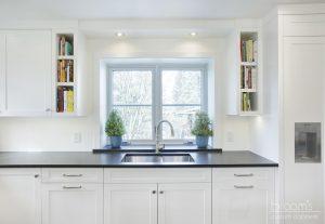 mohawk modern farmhouse white and blue farmhouse kitchen08