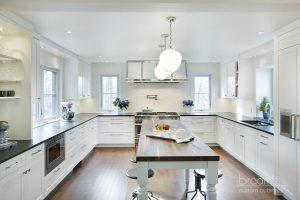 mohawk modern farmhouse white and blue farmhouse kitchen10